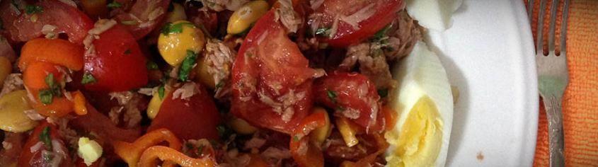 салат из тунца консервированного рецепт диетический