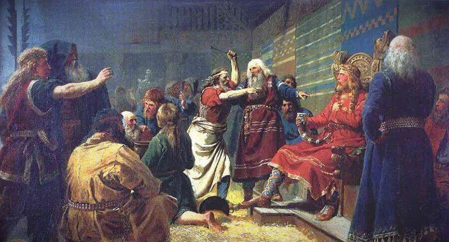 Петер Николай Арбо, «Хакон I Добрый»