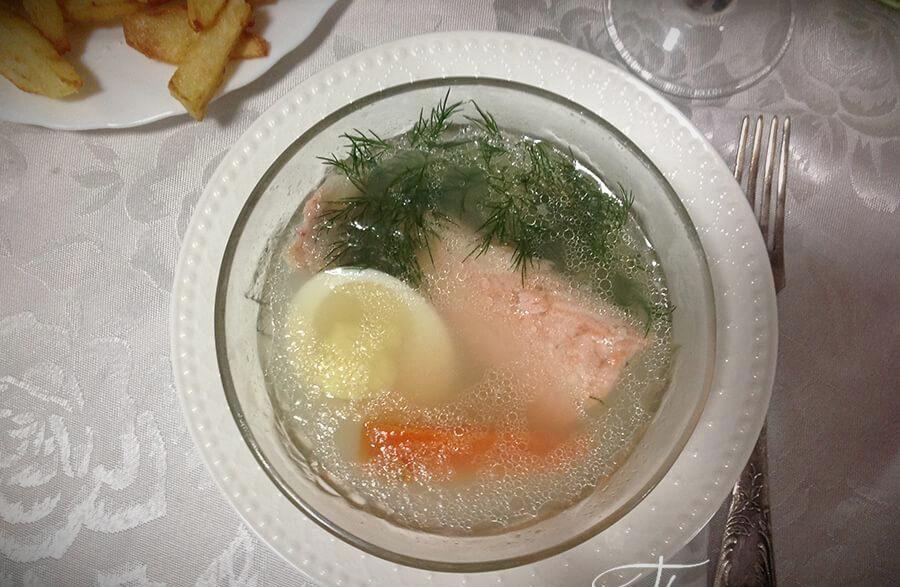 заливное из рыбы с желатином рецепт с фото пошагово