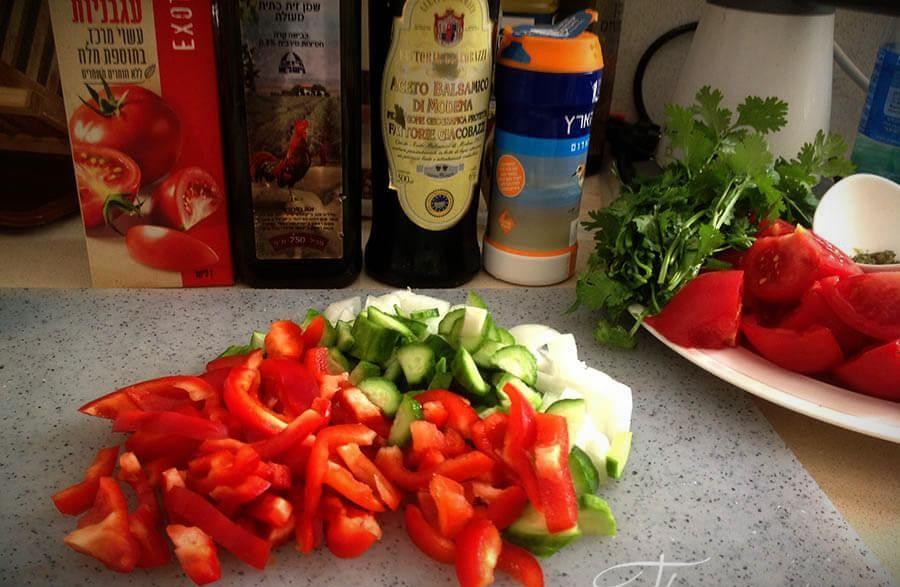гаспачо рецепт классический с фото пошагово