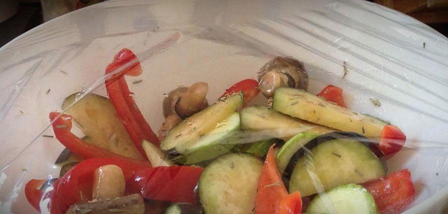 овощи запеченные в духовке рецепт с фото пошагово