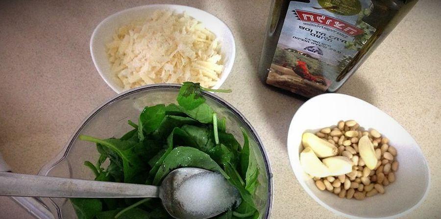 соус песто рецепт в домашних условиях пошагово с фото