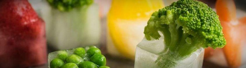 Как заморозить овощи на зиму свежими в морозилке