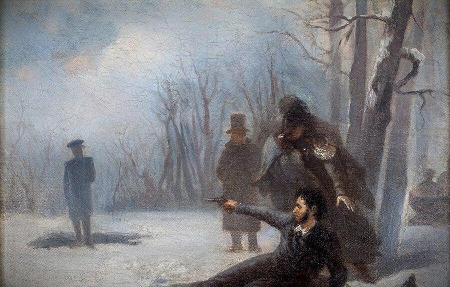 пушкин и дуэли