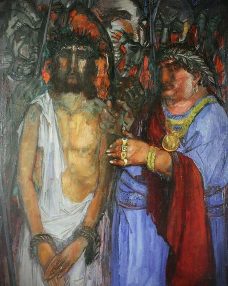 борис анисфельд христос и пилат