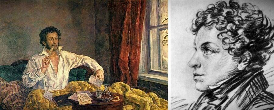 Лев Пушкин около 1820 года. Карандашный рисунок А.О. Орловского