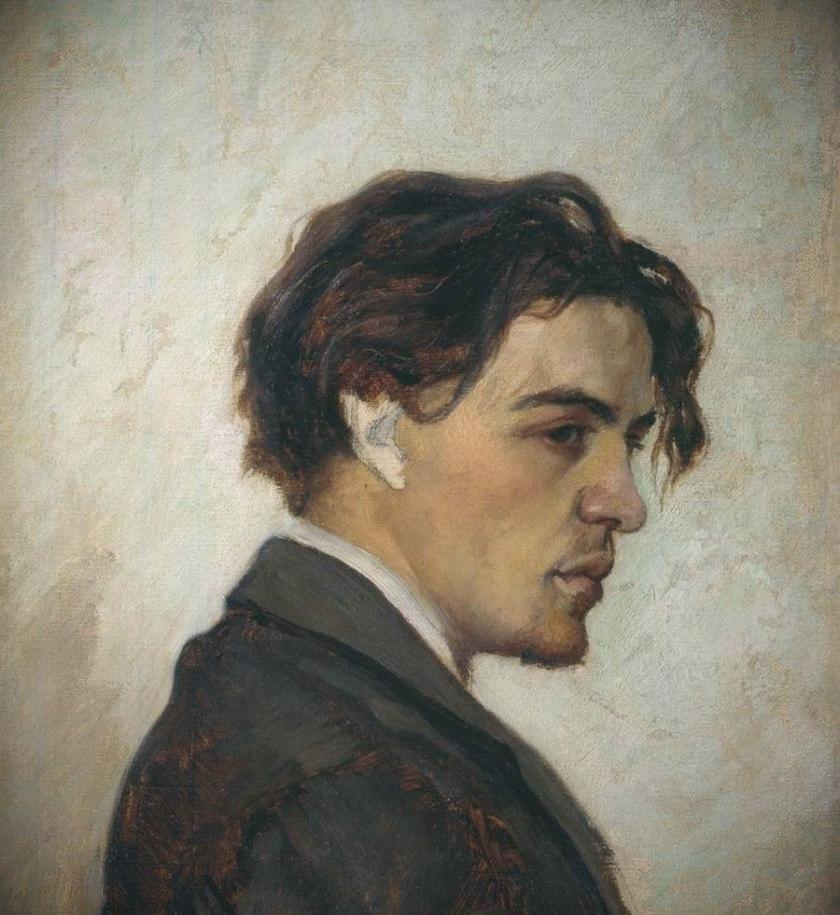 А. П. Чехов. Портрет работы Н. П. Чехова. 1883