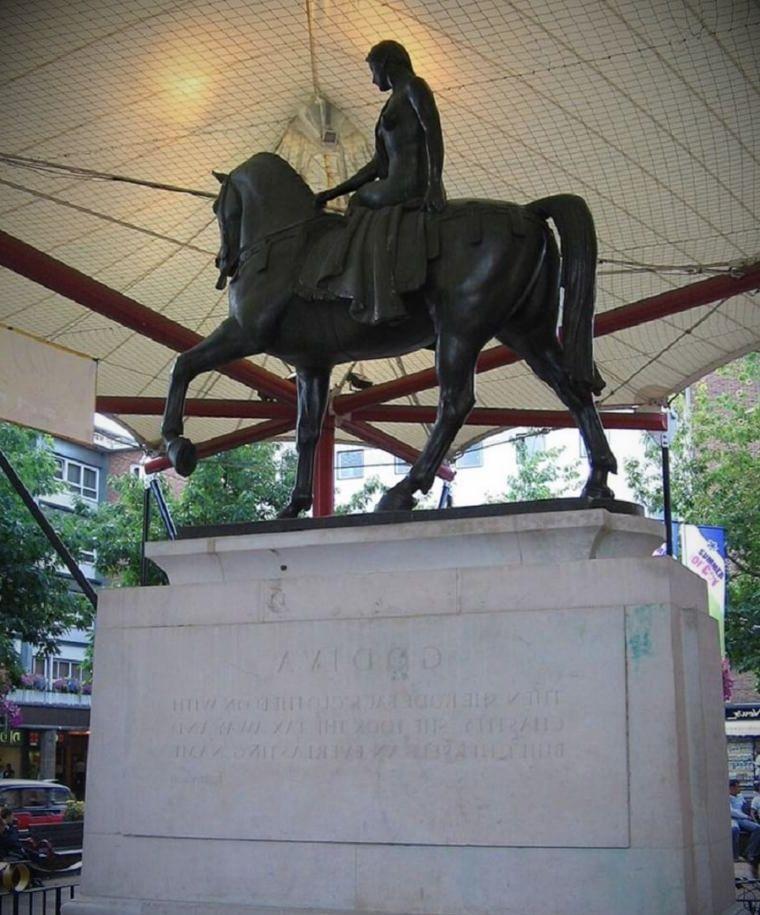 godiva statue by william reid dick e1619771351677