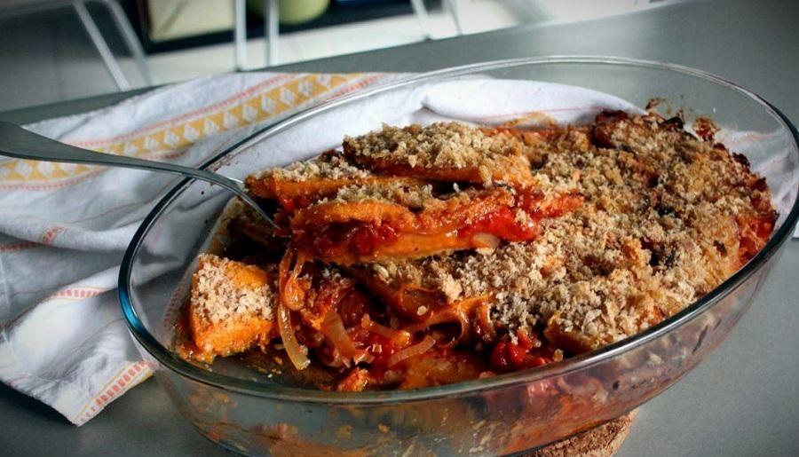 Запеканка из тыквы по рецепту Тулуза-Лотрека