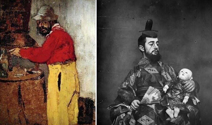 Тулуз-Лотрек не только обожал готовить, но и подавал гостям еду в разных образах