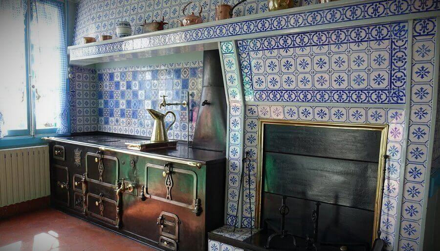 Кухня в усадьбе Клода Моне
