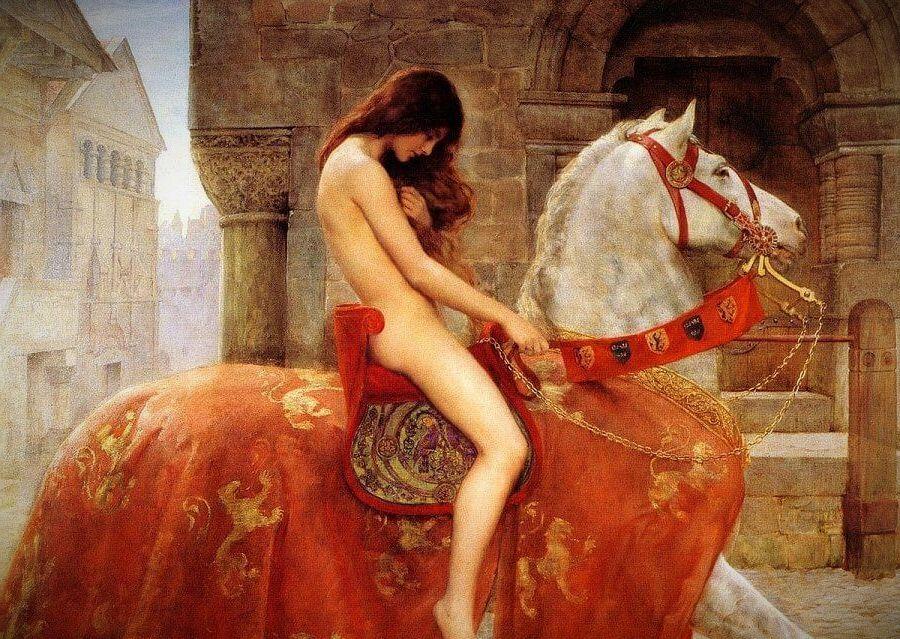 lady godiva by john collier e1619771303130