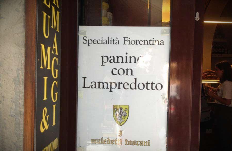 лампредотто флоренция уличная еда