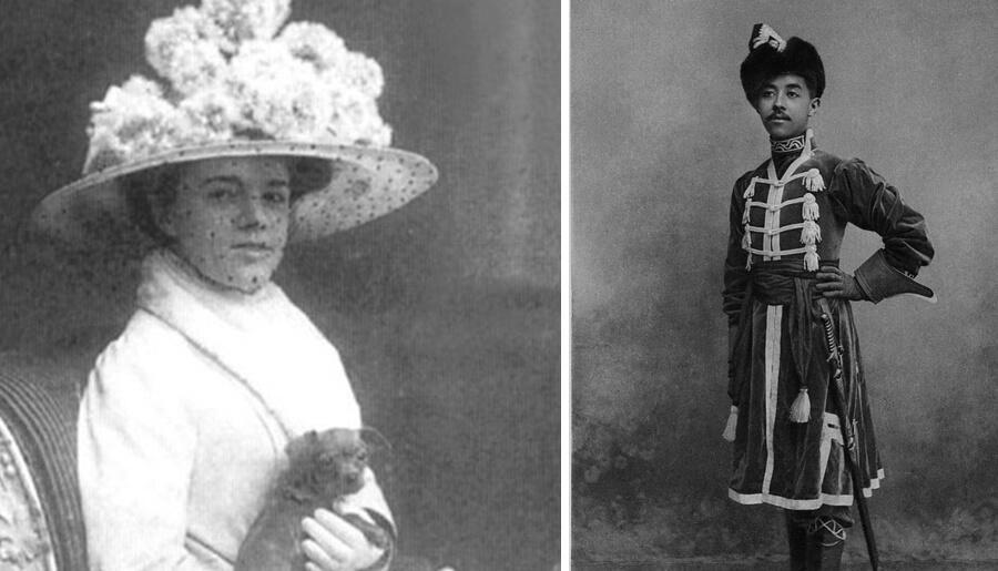 екатерина десницкая и принц сиама чакрабон фото