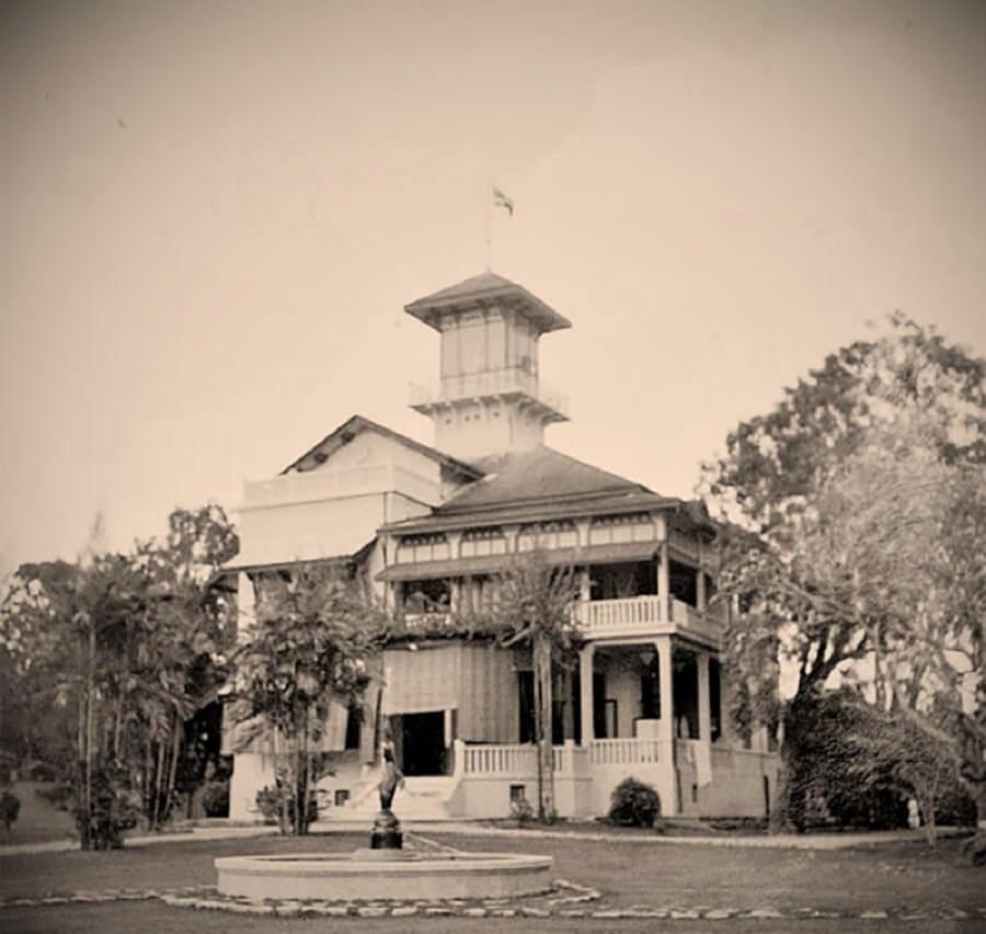 Дом, в котором жили Екатерина Десницкая и Чакропонг в Бангкоке
