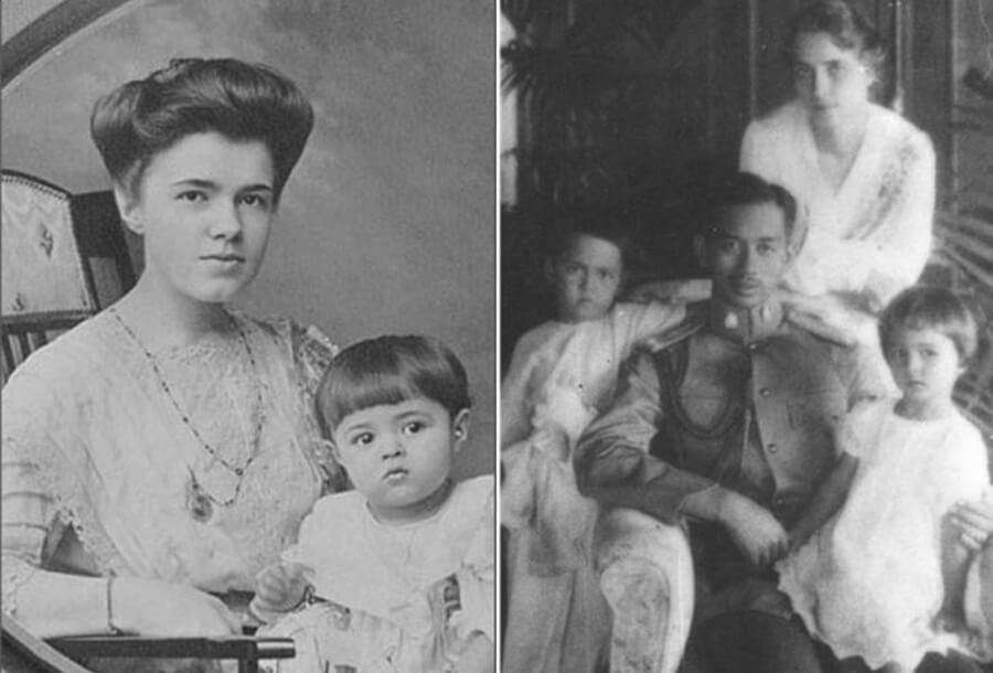 екатерина десницкая и принц сиама чакрабон их дети