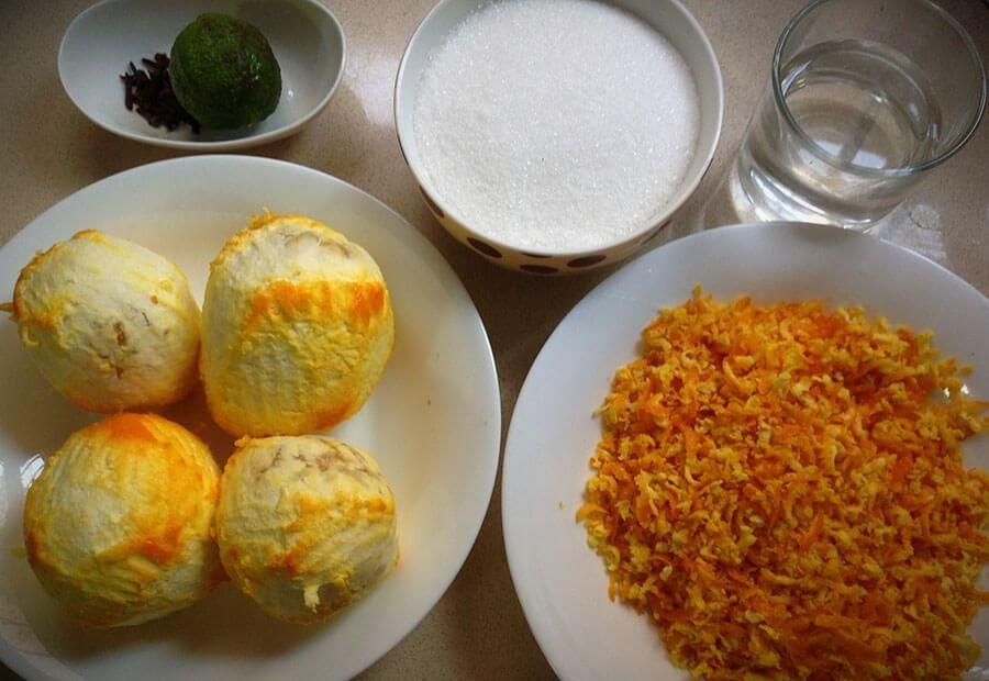 апельсиновый джем в домашних условиях с цедрой
