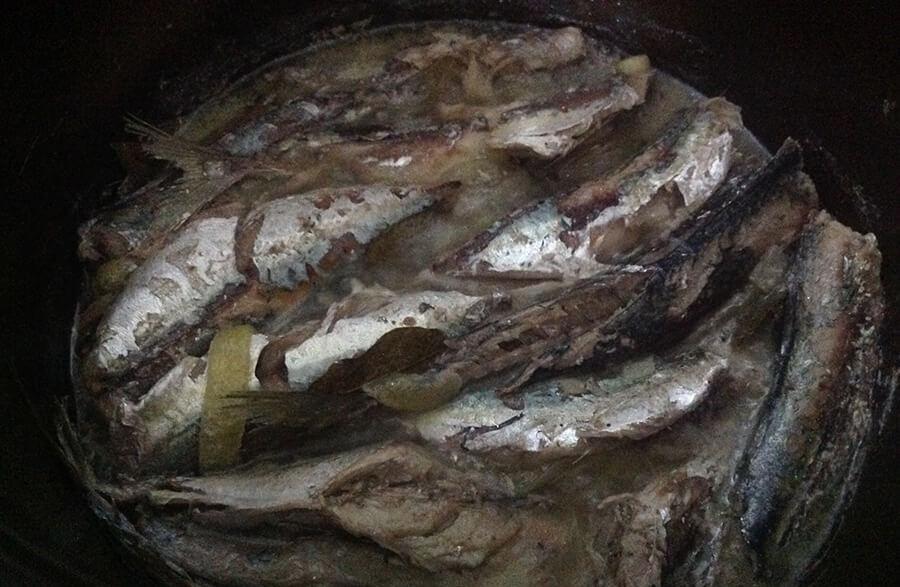 как приготовить сардины свежие