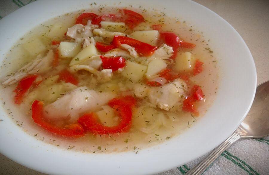 оригинальный суп из курицы