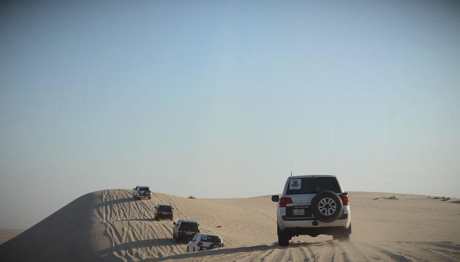 катар доха пустыня