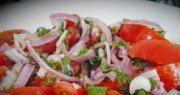 салат с мятой и помидорами