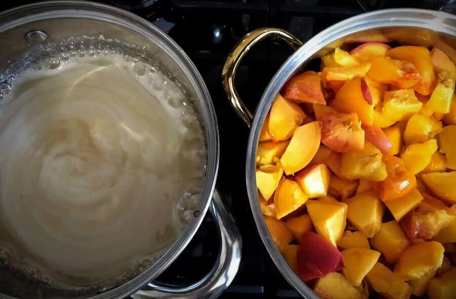 варенье из персиков рецепт приготовления в домашних условиях