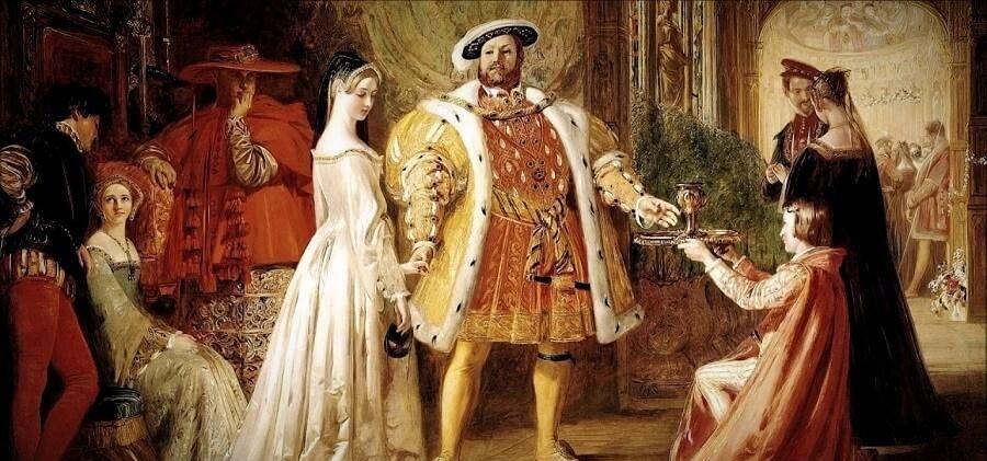 Анна Болейн и Генрих VIII