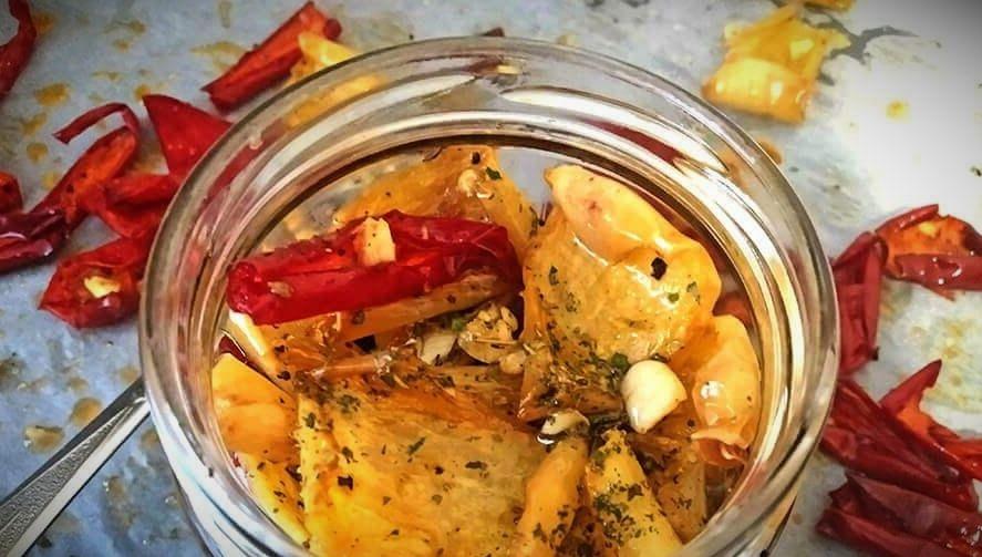 вяленые перцы в домашних условиях в духовке